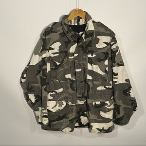 Vintage 90s alpha industries camo military jacket